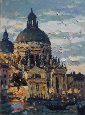Select Sold Works: Ivan Vityuk - Evening in Venice
