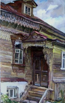 Select Sold Works: Ivan Vityuk - Steps in Suzdal