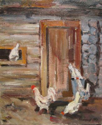 Leonid Vaishlya - Sultan the Rooster, 1985