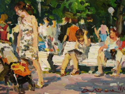 Select Sold Works: Ivan Vityuk - In the Park