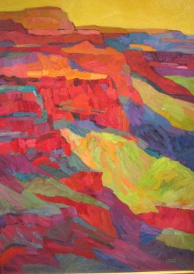 Select Sold Works: Larisa Aukon - Canyon Light 2