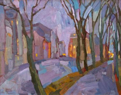 Select Sold Works: Larisa Aukon - Twilight Hues