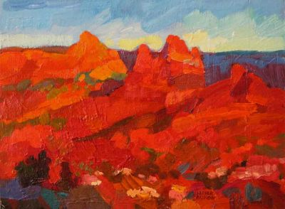 Select Sold Works: Larisa Aukon - Before Sunset