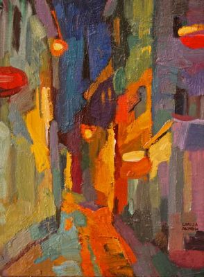 Select Sold Works: Larisa Aukon - Looking for Something