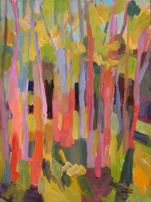 Select Sold Works: Larisa Aukon - Spring Gossips