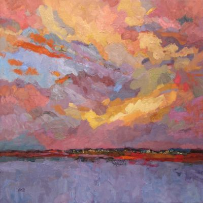 Select Sold Works: Larisa Aukon - Other Side of the Lake