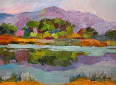 Select Sold Works: Larisa Aukon - Marshland