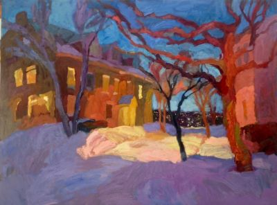 Select Sold Works: Larisa Aukon - Winter Warmth