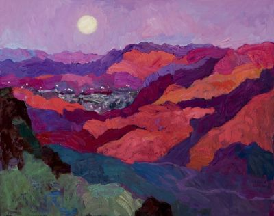 Select Sold Works: Larisa Aukon - Moonrise