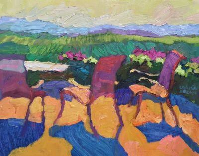 Select Sold Works: Larisa Aukon - Paso Camaraderie