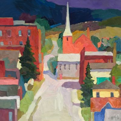 Select Sold Works: Larisa Aukon - Townies
