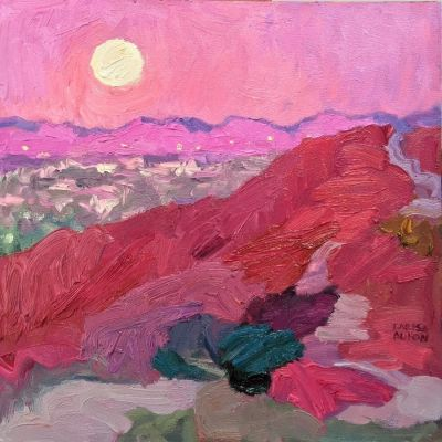 Select Sold Works: Larisa Aukon - Full Moon