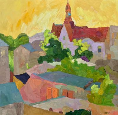 Select Sold Works: Larisa Aukon - A View from the Past
