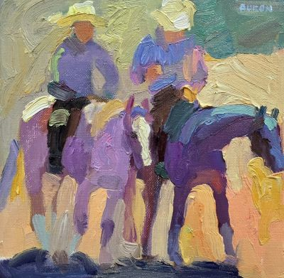 Select Sold Works: Larisa Aukon - Friends