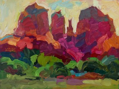 Select Sold Works: Larisa Aukon - Cathedral