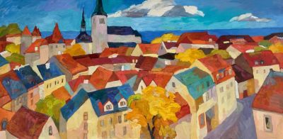 Select Sold Works: Larisa Aukon - Good Morning