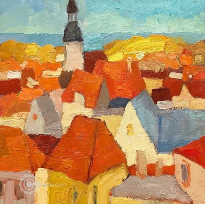Select Sold Works: Larisa Aukon - From the Top
