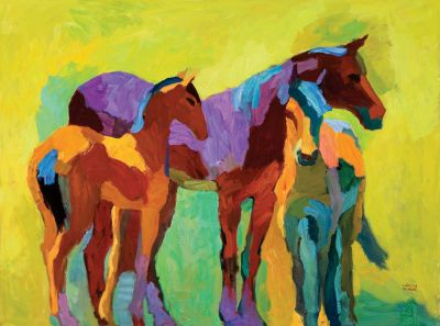 Select Sold Works: Larisa Aukon - Arizonans