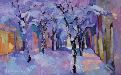 Select Sold Works: Larisa Aukon - Tales of Winter