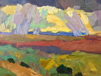 Select Sold Works: Larisa Aukon - High Altitude