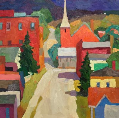 Select Sold Works: Larisa Aukon - Townies II