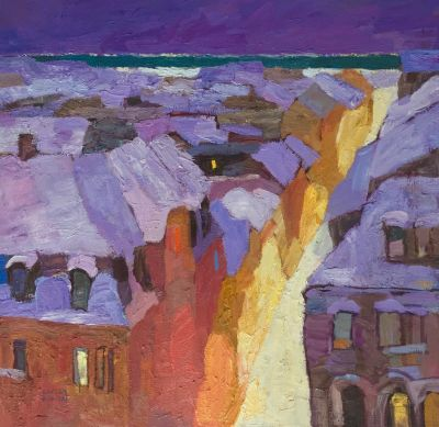 Select Sold Works: Larisa Aukon - Tucked In