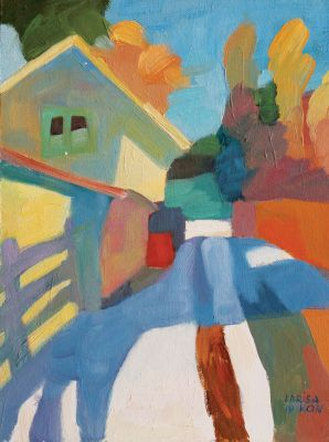 Select Sold Works: Larisa Aukon - Shadow
