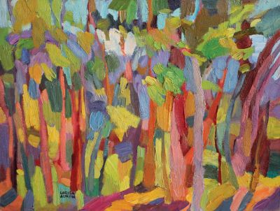 Select Sold Works: Larisa Aukon - Patterns
