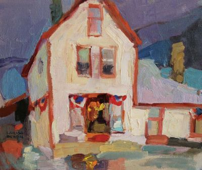 Select Sold Works: Larisa Aukon - White House