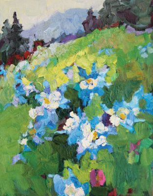 Select Sold Works: Larisa Aukon - Columbine