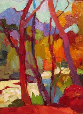 Select Sold Works: Larisa Aukon - I Live in Paradise