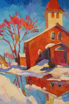 Select Sold Works: Larisa Aukon - Sunday Afternoon