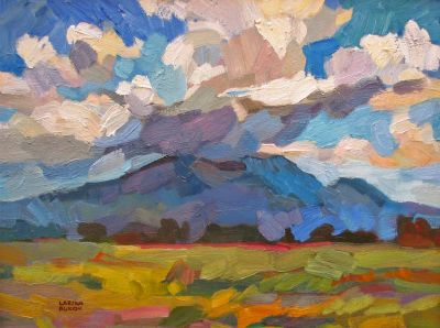 Select Sold Works: Larisa Aukon - Sacred Mountain