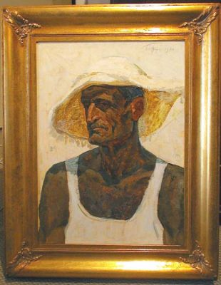 Sold Works: Aleksei Borodin - Collective Farm Worker