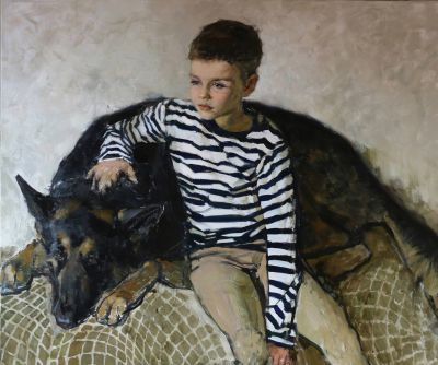 Olga Grigoryeva - Boy and Shepherd