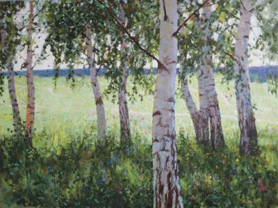 Hudyakov Vasily - Birch Grove