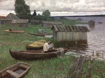 Hudyakov Vasily - Fisherman