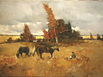 Select Sold Works: Alexander Kremer - Horses