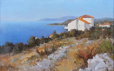 Select Sold Works: Alexander Kremer - On the Adriatic