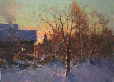 Select Sold Works: Alexander Kremer - Sunset