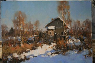 Select Sold Works: Alexander Kremer - Rural Home