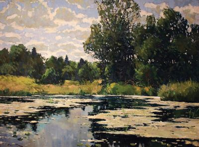 Select Sold Works: Alexander Kremer - Summer Pond