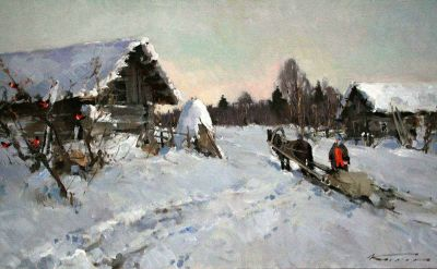 Select Sold Works: Alexander Kremer - February Day