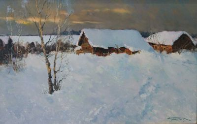 Select Sold Works: Alexander Kremer - Winter