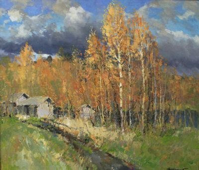 Select Sold Works: Alexander Kremer - Golden Autumn