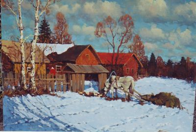 New Works - Morning in the Village
