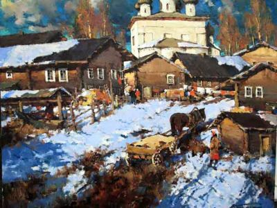 Select Sold Works: Alexander Kremer - Old Ladoga