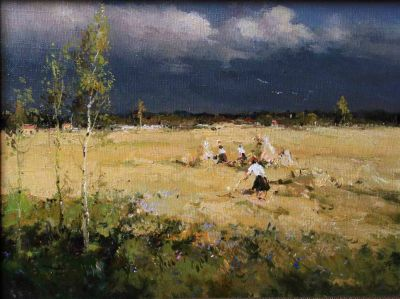 Select Sold Works: Alexander Kremer - Stormy Day