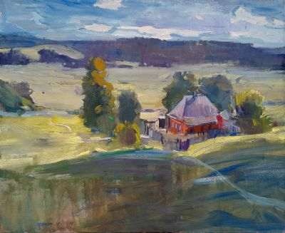 Jaroslav  Leonets - Red House and Light Day