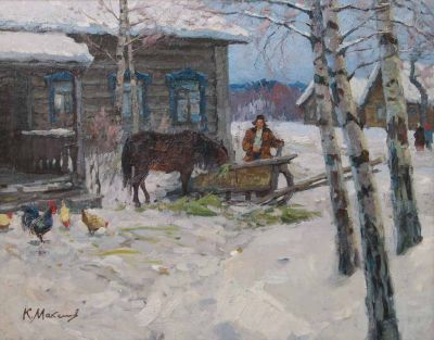 Konstantin Maksimov - Winter Village